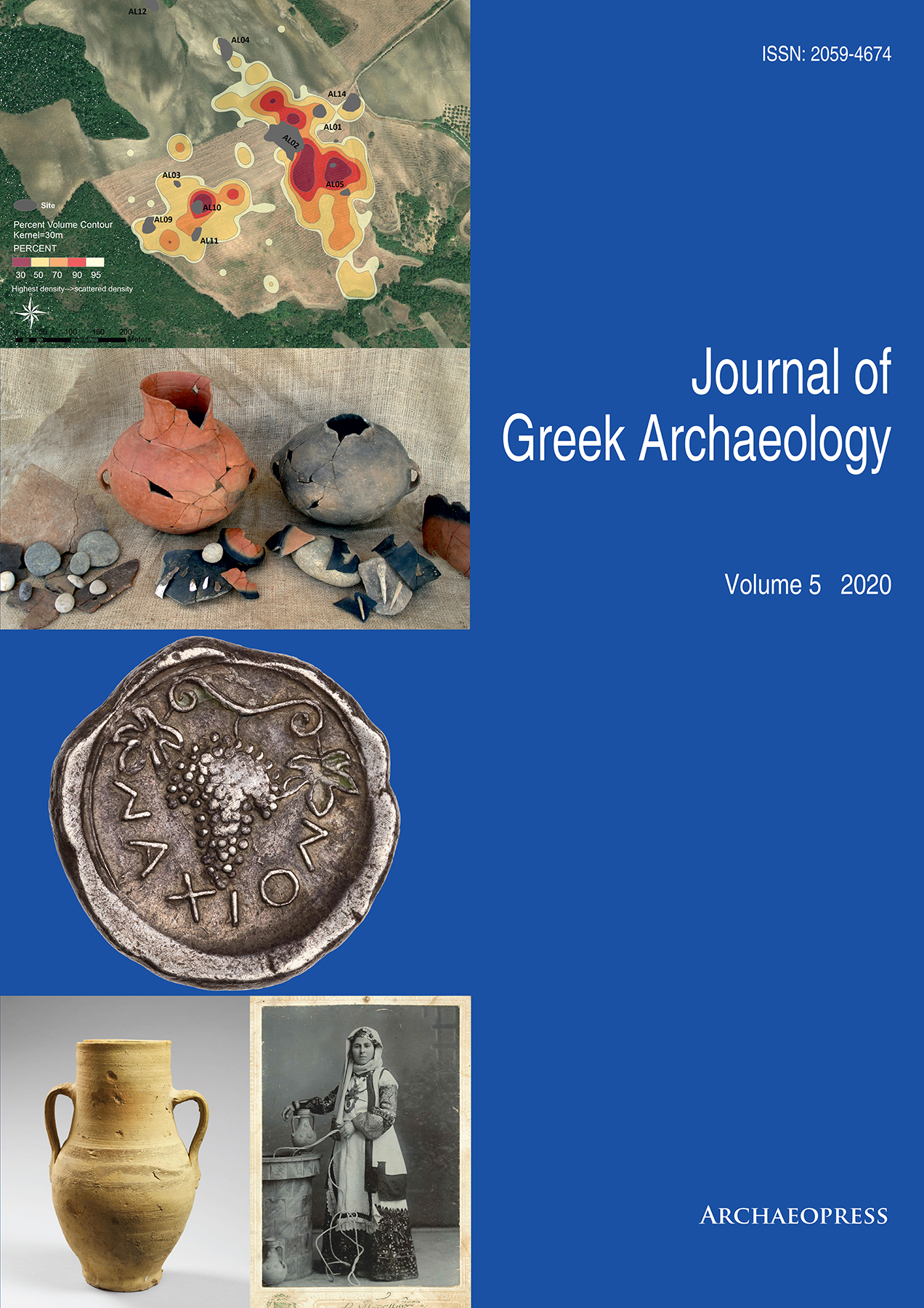 View Vol. 5 (2020): Journal of Greek Archaeology 2020